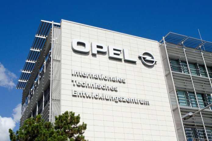 Opel-Entwicklungszentrum in Rüsselsheim