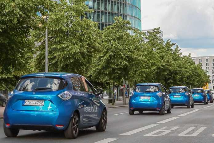 Renault Zoe in Berlin