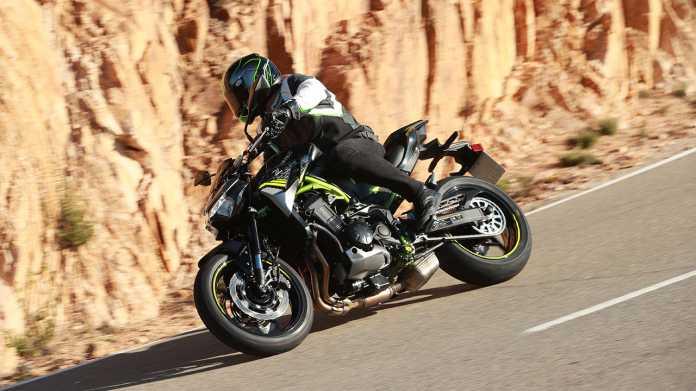 Modellpflege für die Kawasaki Z 900