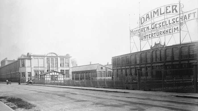 Daimler-Motoren-Gesellschaft Untertürkheim 1908