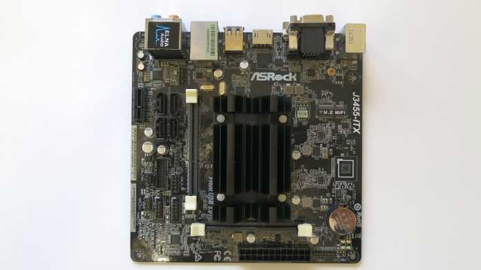 ASRock J3455-ITX mit Celeron J3455 (Intel Apollo Lake)
