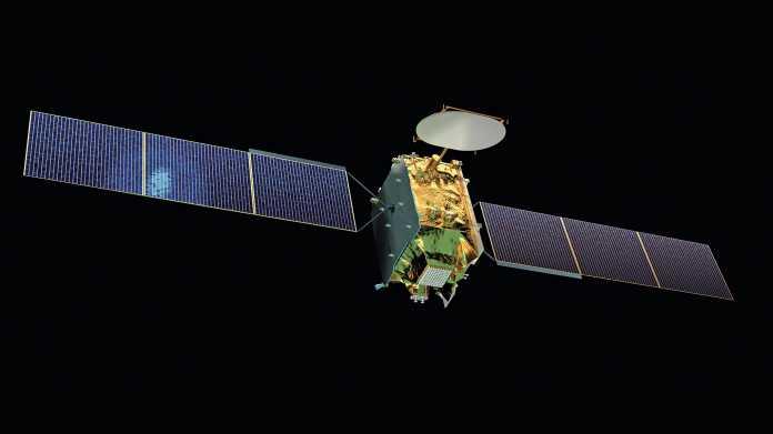 Sichere Schlüssel vom Satelliten