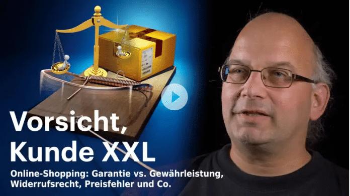nachgehakt: Vorsicht, Kunde XXL – Garantie, Gewährleistung und co.
