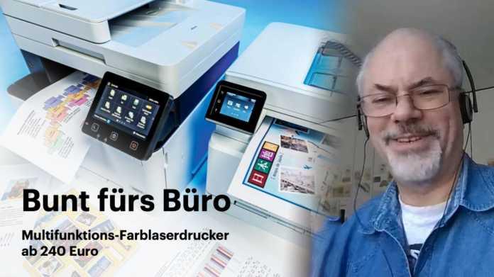 nachgehakt: Multifunktions-Farblaserdrucker ab 240 Euro