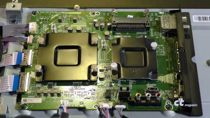 Smart-TVs von Innen: Hisense H55U8B