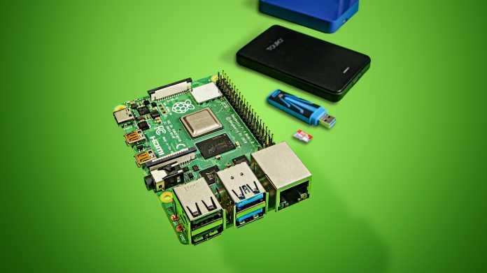 Der Raspberry Pi 4 als NAS-Basis