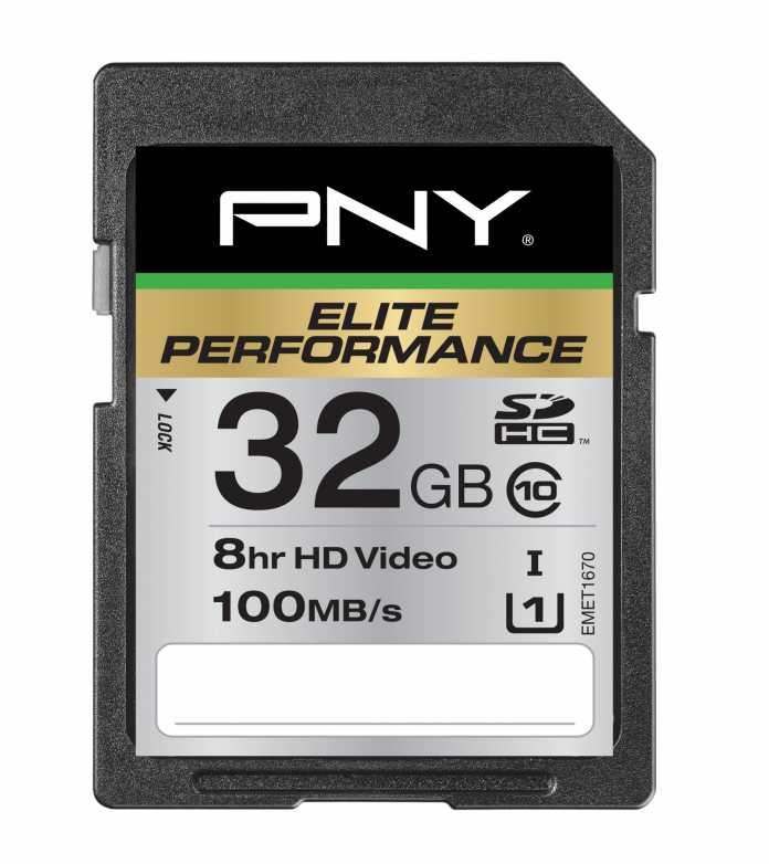 PNY Elite Performance SDHC