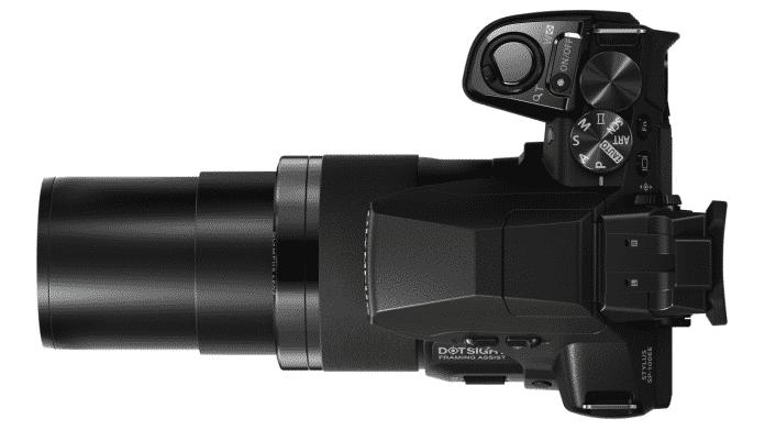 Olympus SP-100EE: Ultrazoom mit Scharfschützen-Punktvisier