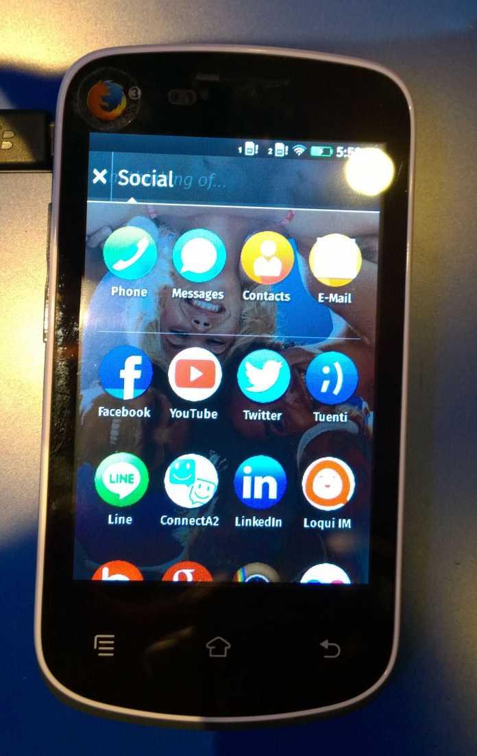Noch hat das 25-Dollar-Smartphone keinen Namen, doch eins ist sicher: Es wird unter Firefox OS laufen.
