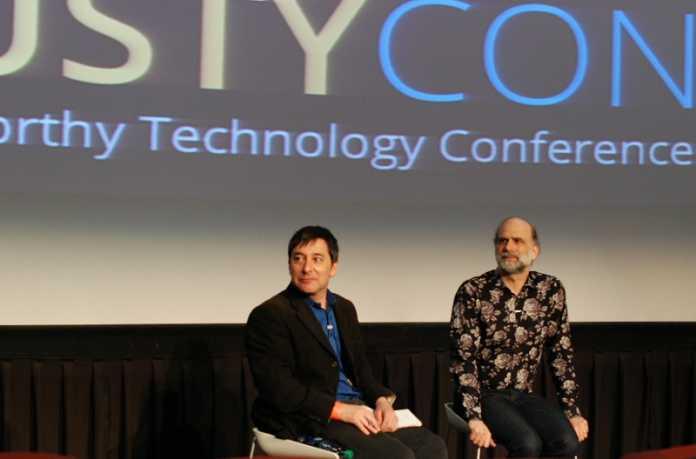 Bruce Schneier war nur einer der prominenten TrustyCon-Redner.