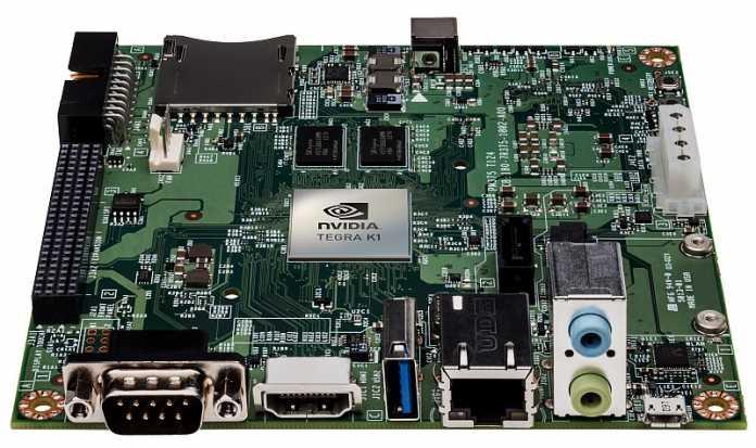 Nvidia Jetson TK1 mit Tegra K1