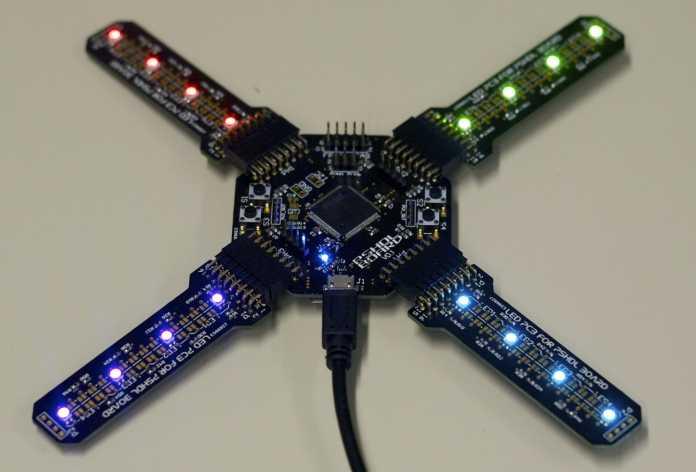 Mit seinem PSDHL-Board will Karsten Becker FPGA-Projekte deutlich vereinfachen.