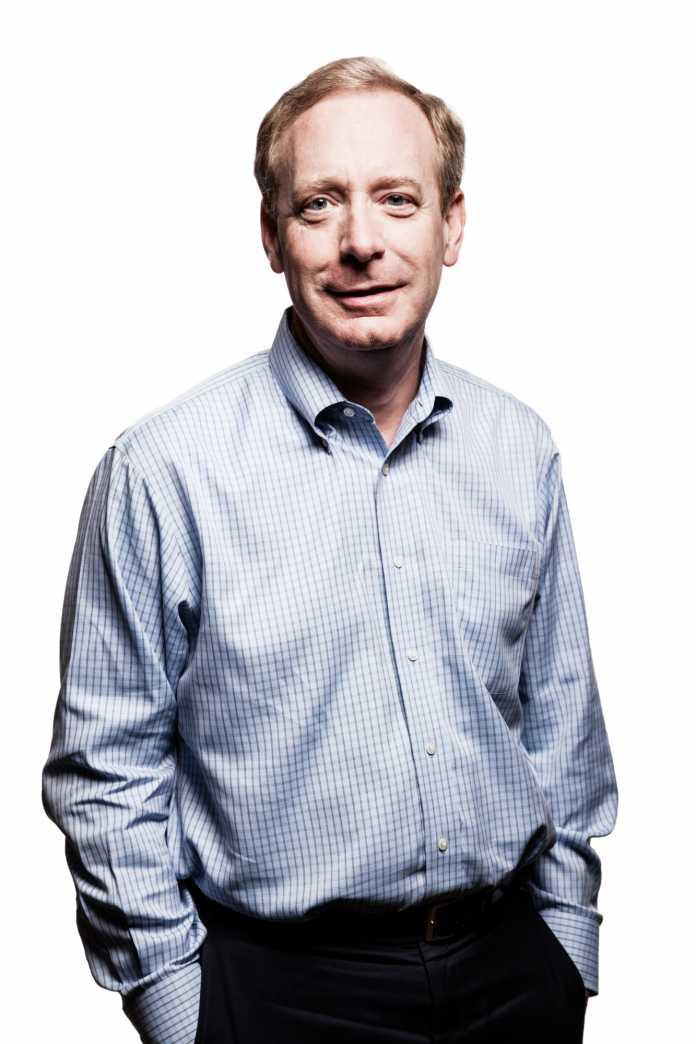 Microsoft-Vizepräsident und -Justiziar Brad Smith