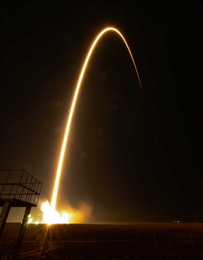 Vor wenigen Tagen starteten zwei Russen und ein US-Amerikaner vom Weltraumbahnhof Baikonur.
