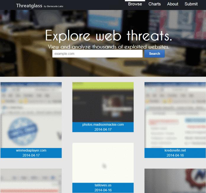 Gruselkabinett: Threatglass konserviert verseuchte Webseiten für die Ewigkeit.