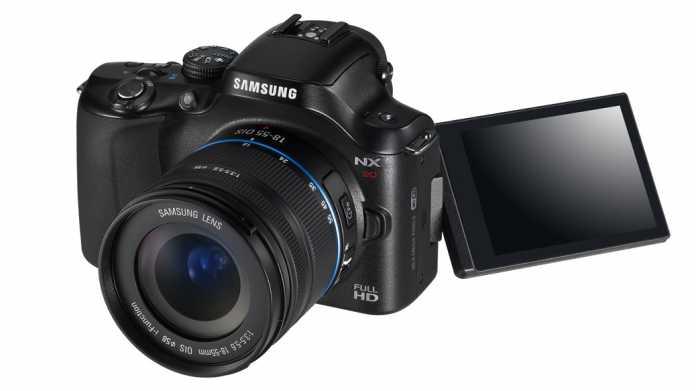 Hands-on: Samsung NX20