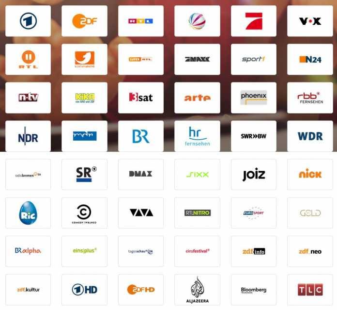 Die 48 Sender streamt Magine in Deutschland kostenfrei.