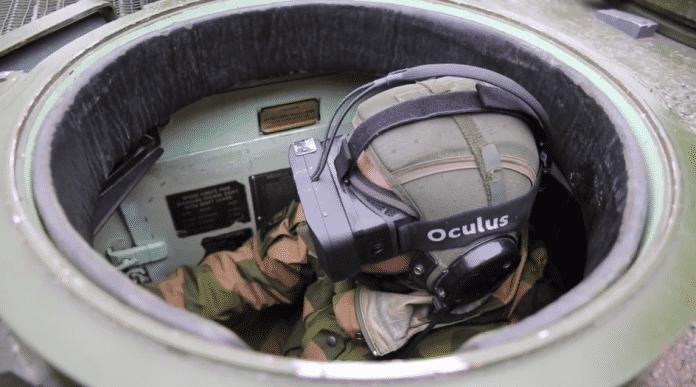 Rundumblick für Panzerfahrer mit der Oculus Rift.