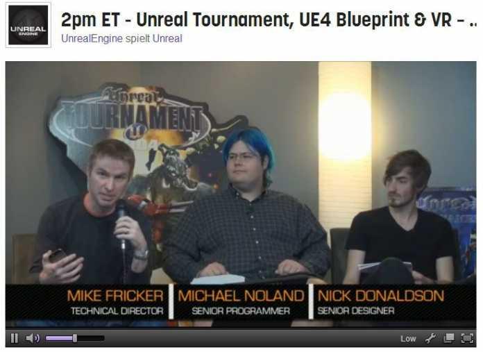 Epic-Mitarbeiter kündigten das kommende Unreal Tournament an und beantworteten Fragen der Community über die Unreal Engine 4.