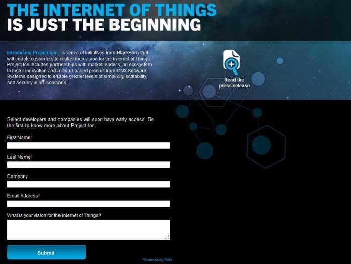 Noch sind die Informationen zum Project Ion rar gesät. Wer darüber auf dem Laufenden gehalten werden möchte, kann sich dafür registrieren.