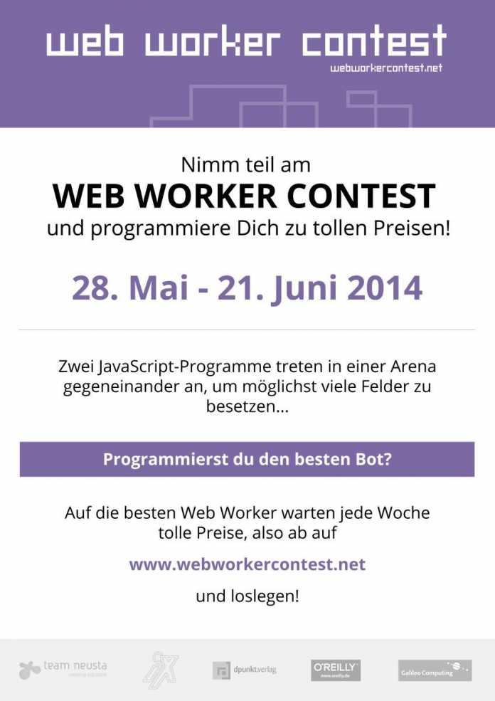 Programmierwettbewerbe im Browser wie den Web Worker Contest dürfte es noch nicht allzu viele geben.