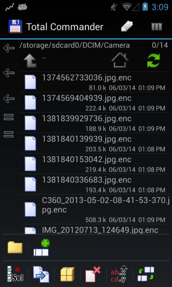 Nach der Infektion sind die Dateien des Opfers verschlüsselt – Wohl dem, der ein Backup hat.