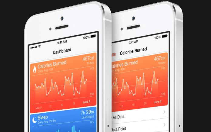 Health-App in iOS 8.