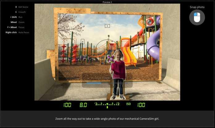 Screenshot CameraSim 3D