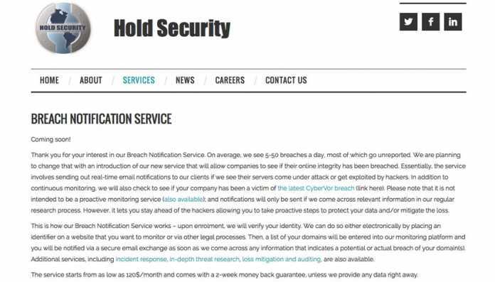 Breach Notification Service