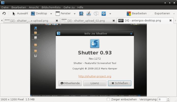 Shutter 0.93