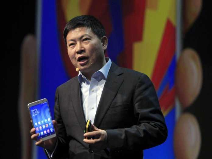 Huawei-Chef Richard Yu