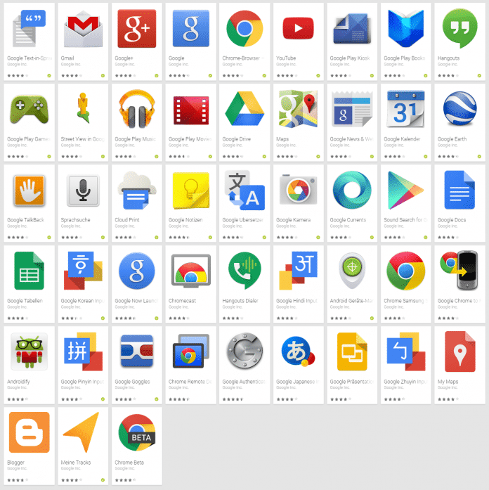 Unklar ist, welche Google-Dienste künftig dazu kommen. Google Docs vielleicht.
