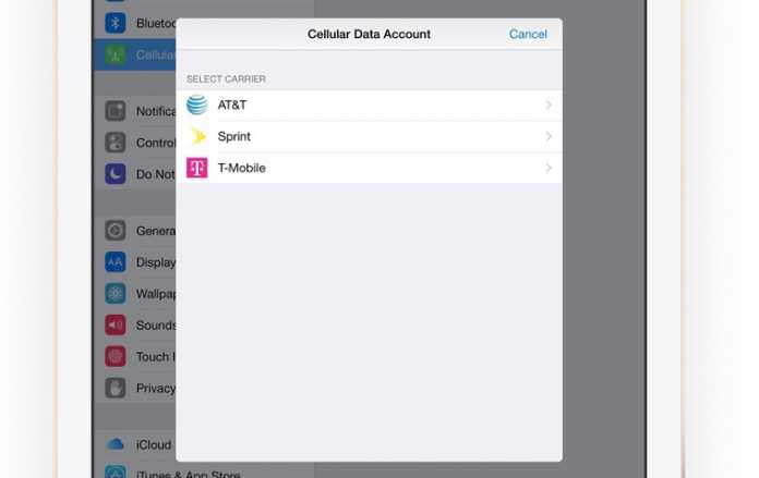Apple SIM in Aktion: Nie wieder am SIM-Slot basteln.