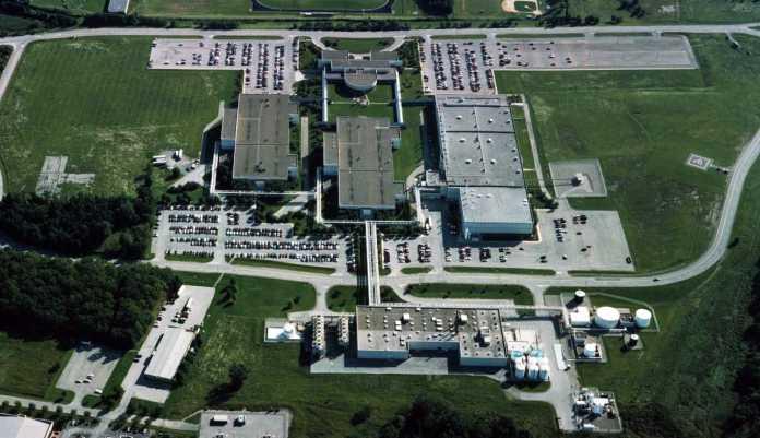 Gebäude nahe der IBM-Fab East Fishkill