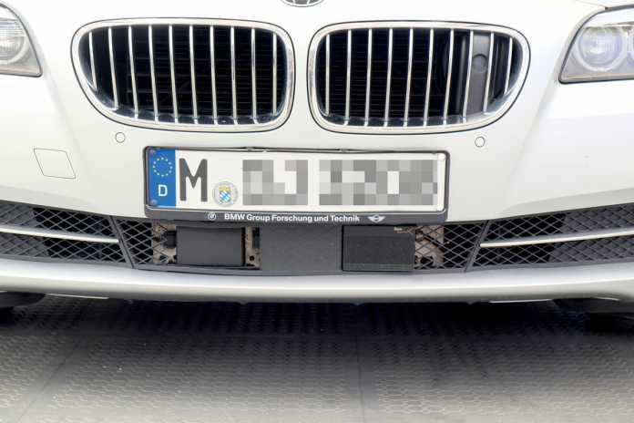 In Bayern werden Nummernschildern an mehreren Stellen erfasst und mit Fahndungsdatenbanken abgeglichen.