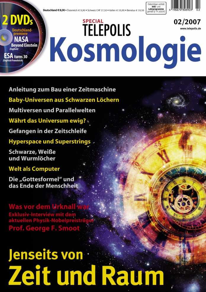 Telepolis-Sondernheft Kosmologie, Titelbild