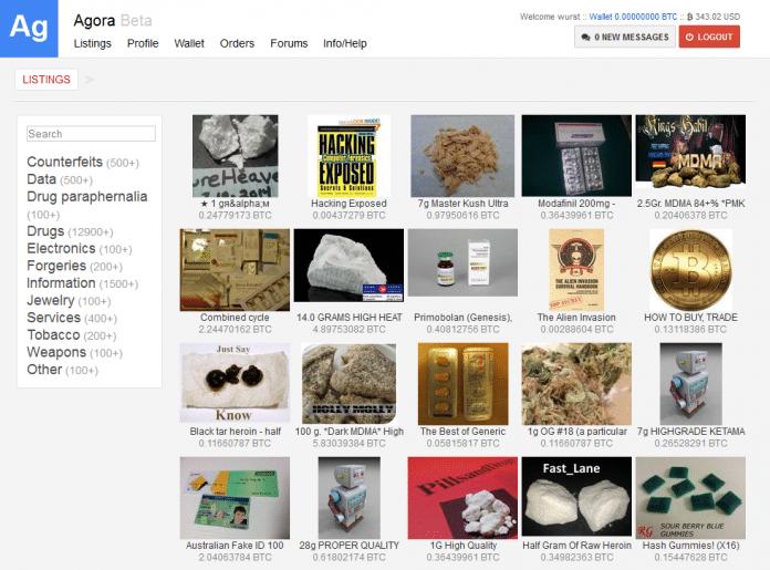 Noch genug Stoff für Ermittler: Zahlreiche Drogenmarktplätze sind weiter online.