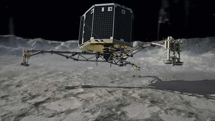 Kometen-Sonde Rosetta: Europa will auf einem Kometen landen