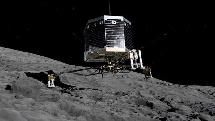 ESA-Mission Rosetta: Sonde Philae ist auf Kometen gelandet