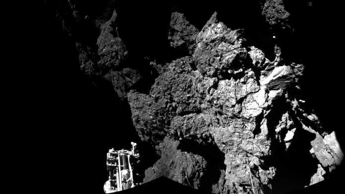ESA-Mission Rosetta: Philae funkt Bilder vom Kometen