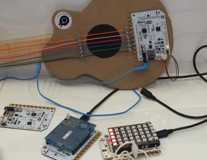 Feine Sensorik: Touchboard