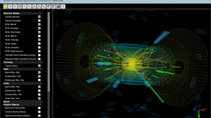 LHC-Visualisierung