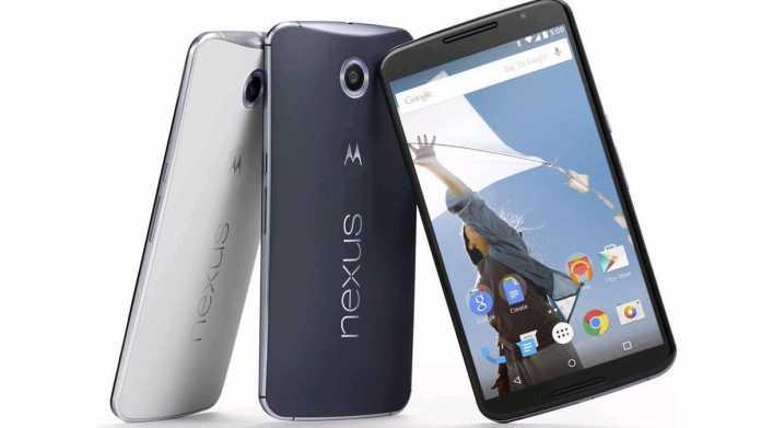Nexus 6 ab 5. Dezember im Play Store erhältlich