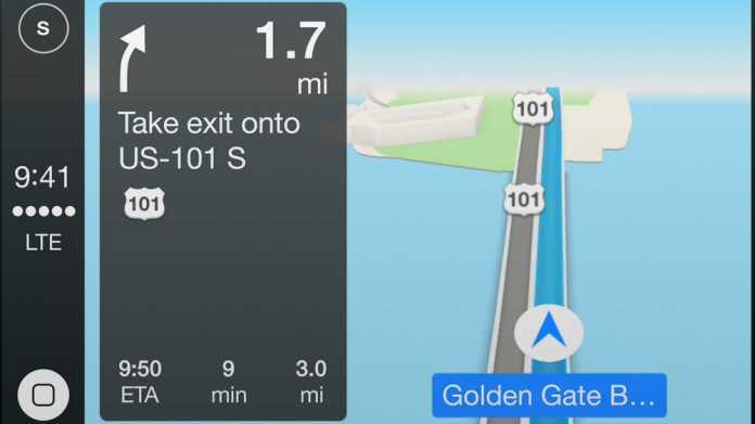 Bericht: Navi-Anbieter müssen bei Apples CarPlay vorerst draußen bleiben
