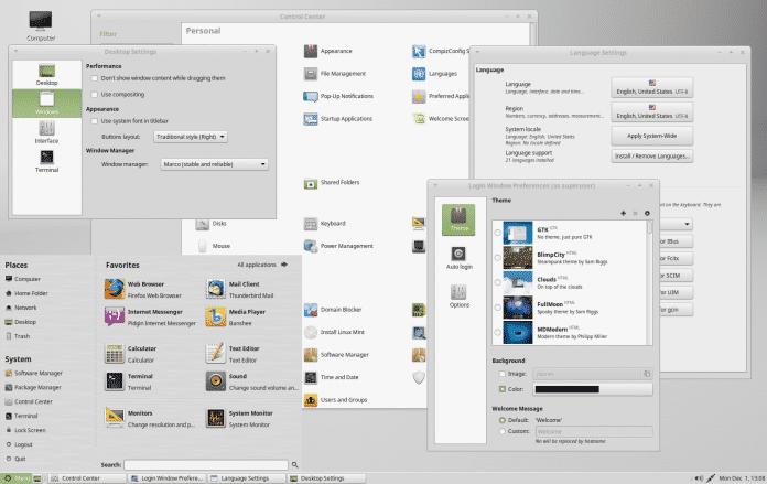 Linux Mint 17.1 Mate