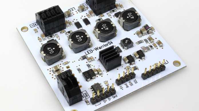 LED-Warrior 04: Low-Cost-Beleuchtungssteuerung