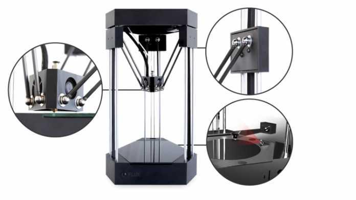 Flux: Modularer 3D-Drucker sammelt 1,3 Mio. US-Dollar über Kickstarter