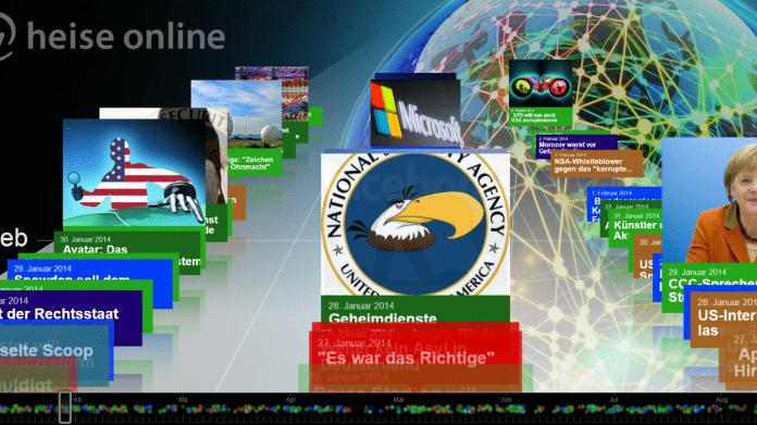 NSA-Skandal: Aktualisierte Zeitleiste zu den Snowden-Enthüllungen