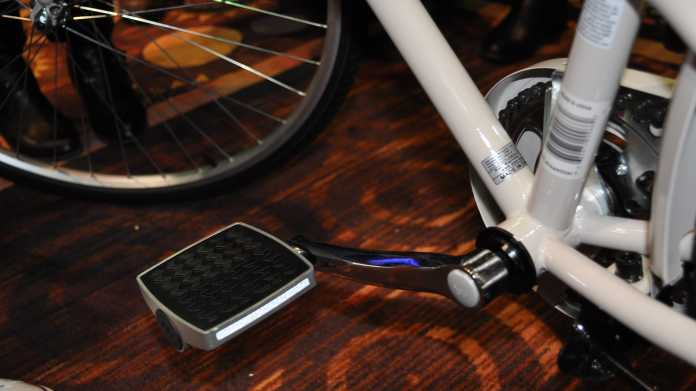 CES: Smartes Fahrrad-Pedal soll vor Diebstahl schützen