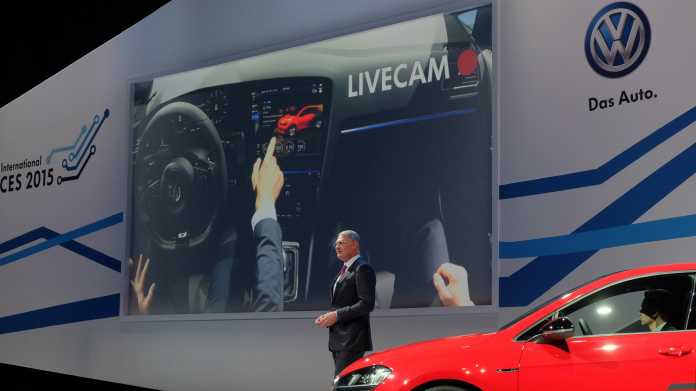 CES: VW zeigt Gestensteuerung im Auto